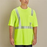 MN Hi-Vis SS Class 2 Tee with Pocket SAFYELL XLG