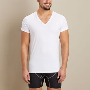 Men's Armachillo Cooling Deep V-Neck Undershirt
