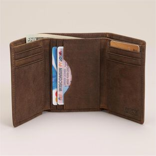 Working Man's Leather Tri-Fold Wallet