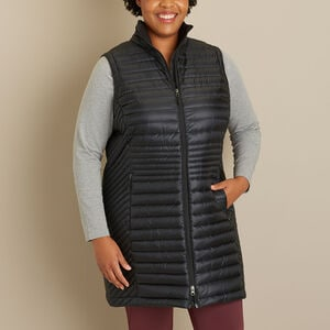 Women's Plus Down Right Tunic Vest