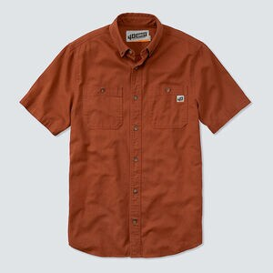 Men's 40 Grit Standard Fit Short Sleeve Work Shirt