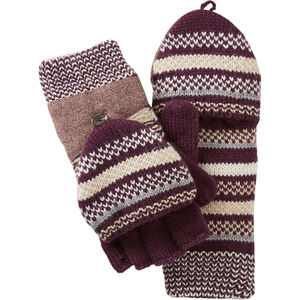Women's Fair Isle Convertible Mittens