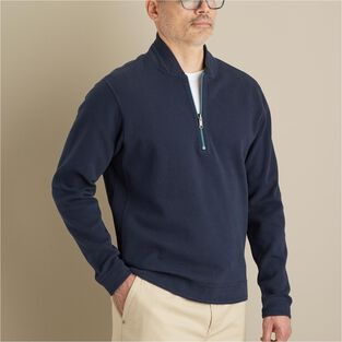 Men's Mock Exchange 1/4 Zip Pullover