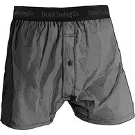 Men's Buck Naked Performance Boxers GRPHITE XLG