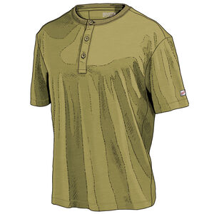 Men's Barefoot Cotton Standard Fit Short Sleeve Henley