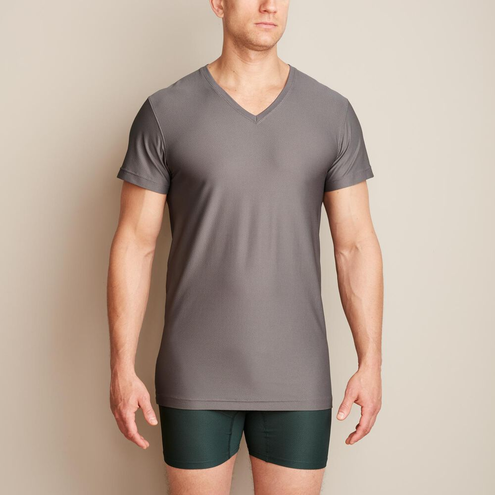 Mens Buck Naked Performance Extra Long Boxer Briefs