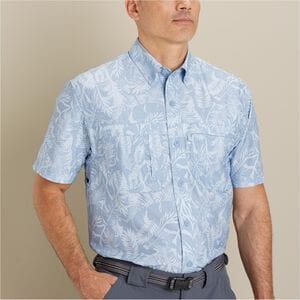 Men's Action Short Sleeve Print Shirt