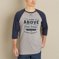 MN Longtail T Cut Above Logo 3/4 Sleeve Baseball G
