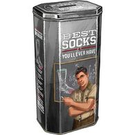 Socks Education Gift Tin