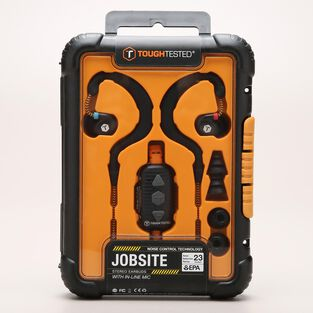 Tough Tested Jobsite Earbuds