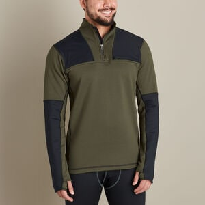 Men's Alaskan HG Boundary Range Base Layer 1/4 Zip Shirt