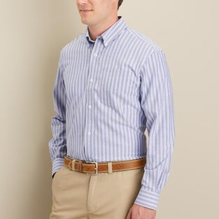 Men's Wrinklefighter Striped Oxford Shirt