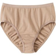 Women's Free Range Cotton Briefs BEIGE XSM