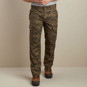 Men's DuluthFlex Fire Hose Slim Fit Camo Cargo Work Pants