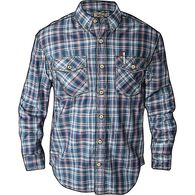 9e644ebc Men's Free Swingin' Long Sleeve Plaid Shirt OBLPLA