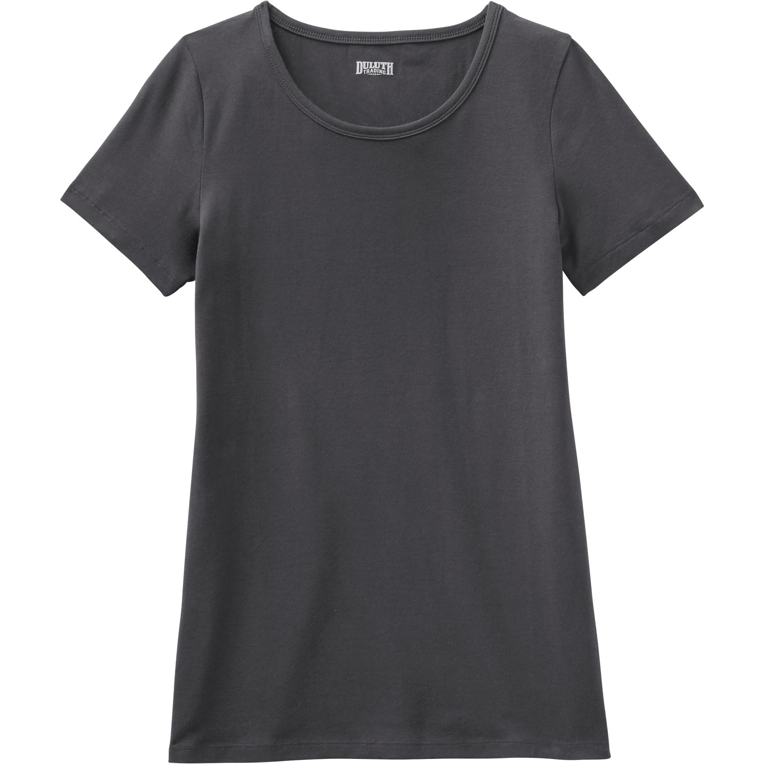 Women's No-Yank Short Sleeve Scoop Neck T-Shirt CO