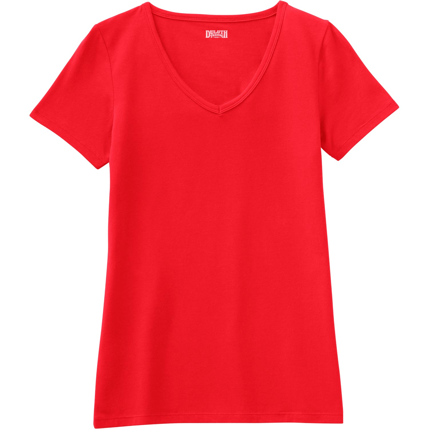 Women's No-Yank Short Sleeve V-Neck T-Shirt CIPPRP